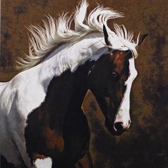 Horse Tapestry Bella