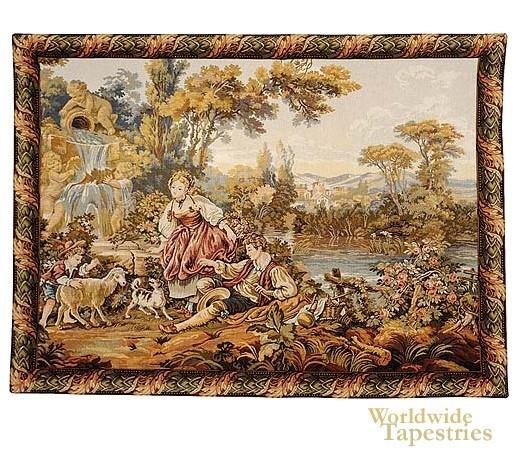 Gobelins Tapestry Boucher image
