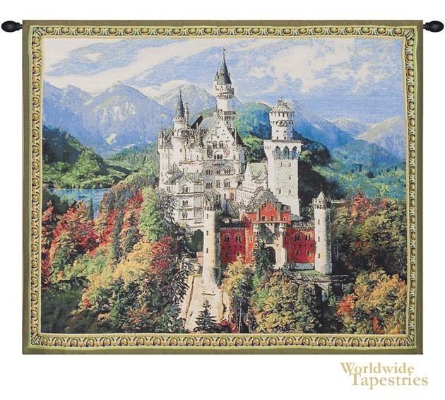 Castle Tapestry Image Amazing Ideas