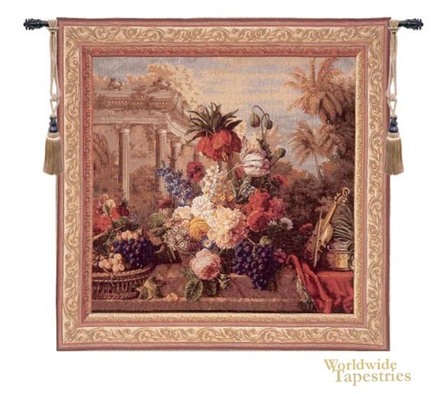 Bouquet exotique floral tapestries worldwide tapestries for Bouquet exotique