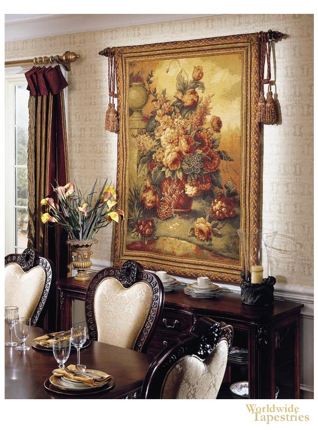 Floral Tapestry Image