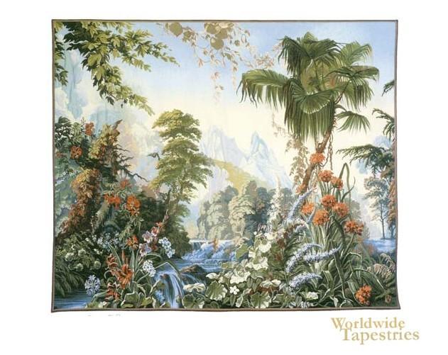 Jardin Des Delices Landscape Tapestry Picture