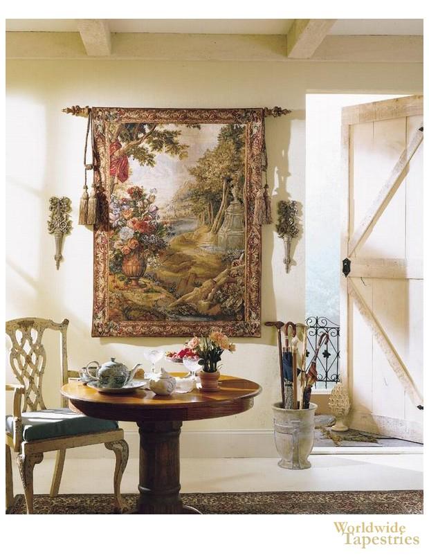 Landscape Tapestry Bouquet U0026 Fountain