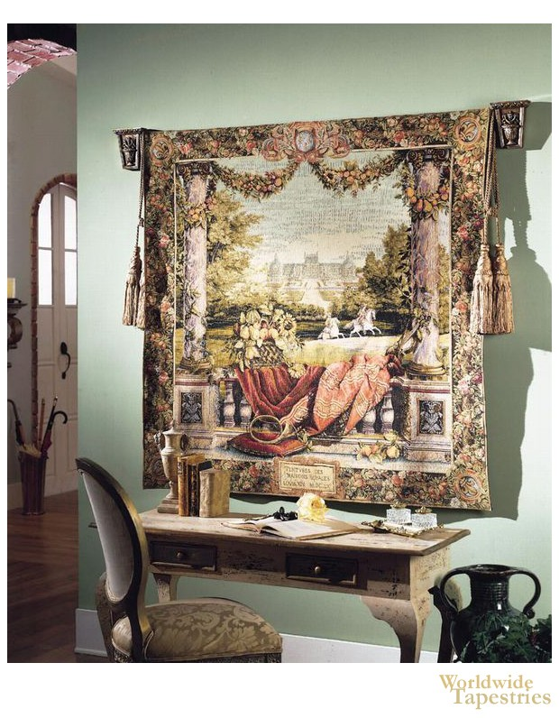 Chateau Bellevue III Tapestry image