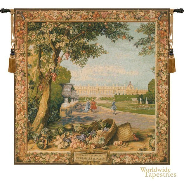 Versailles Promenade Gobelins Tapestry image