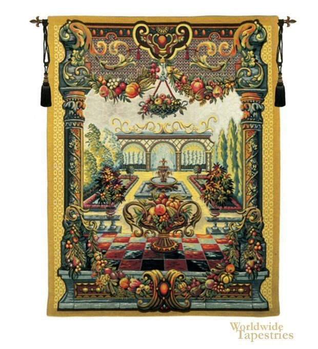 Jardin de bagatelle art tapestry worldwide tapestries for Jardin bagatelle