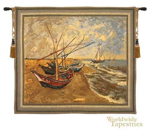 Van Gogh Les Bateaux
