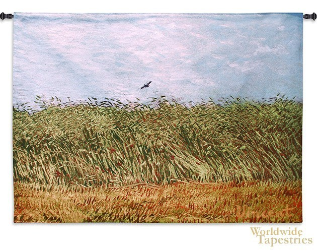 Van Gogh's Wheat Field with Lark