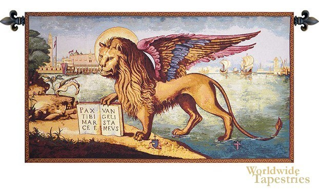 Lion Arrives in Venice