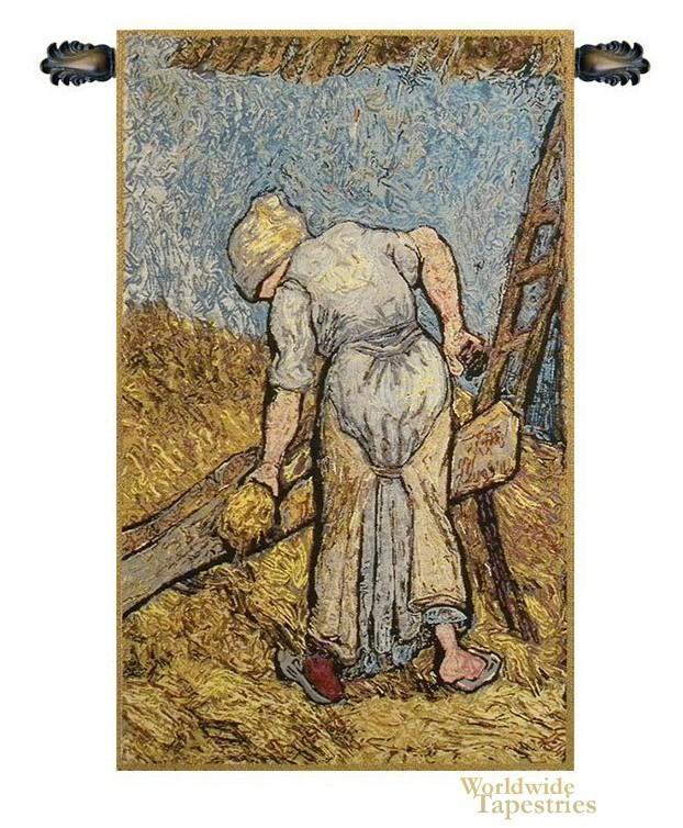 Flax Harvest - Van Gogh