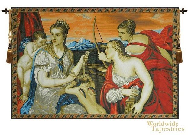 Venus Blindfolds Cupid