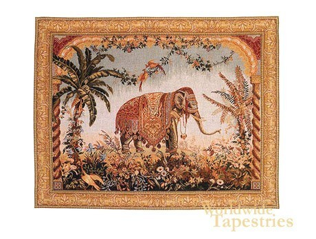 Royal Elephant - with border