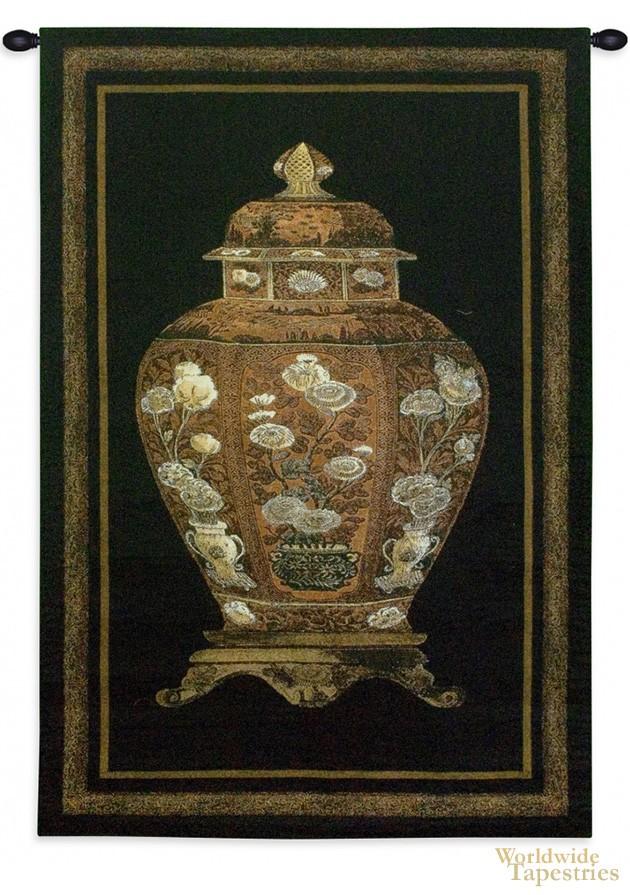 Oriental Jar I Oriental Wall Hangings Worldwide