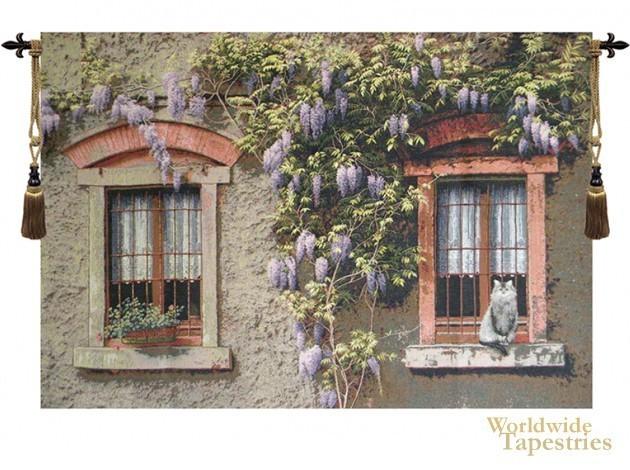 Windows with Wisteria