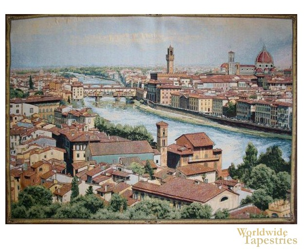 View of Florence and the Arno