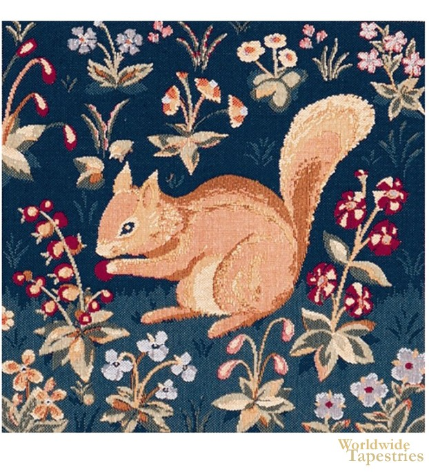 Medieval Squirrel Cushion Cover