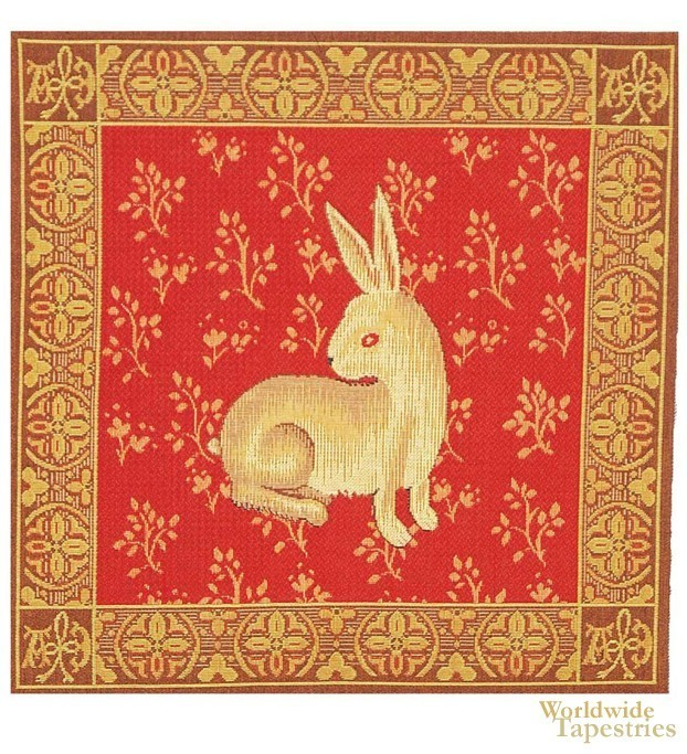 Lapin De Cluny Cushion Cover