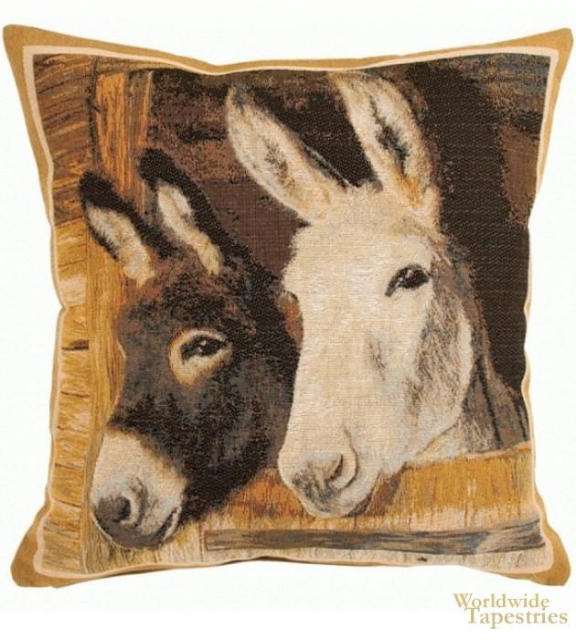 Donkeys Cushion Cover