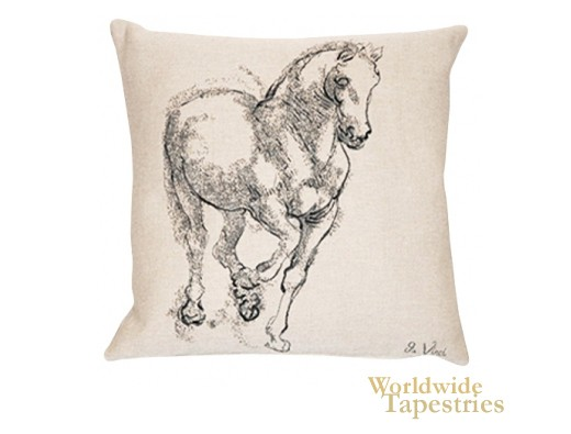 Cheval Da Vinci Cushion Cover