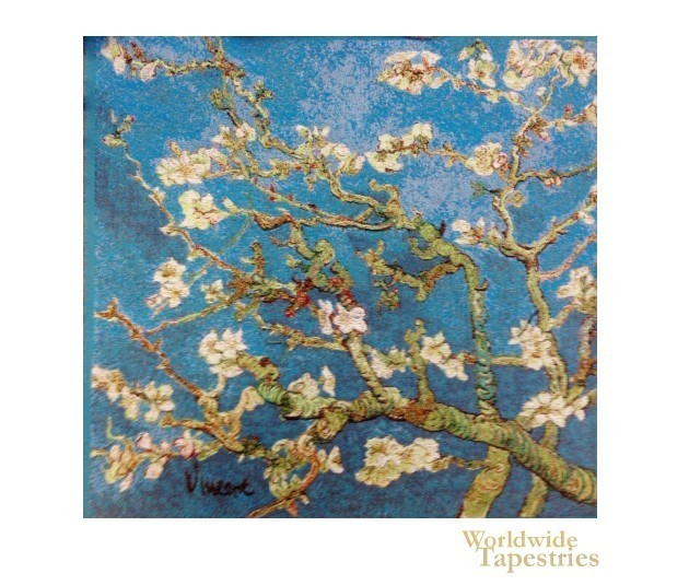 Almond Blossoms - Van Gogh Cushion Cover