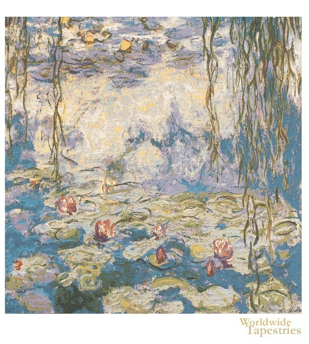 Water Lilies I - Monet Cushion Cover