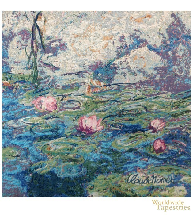 Water Lilies II - Monet Cushion Cover
