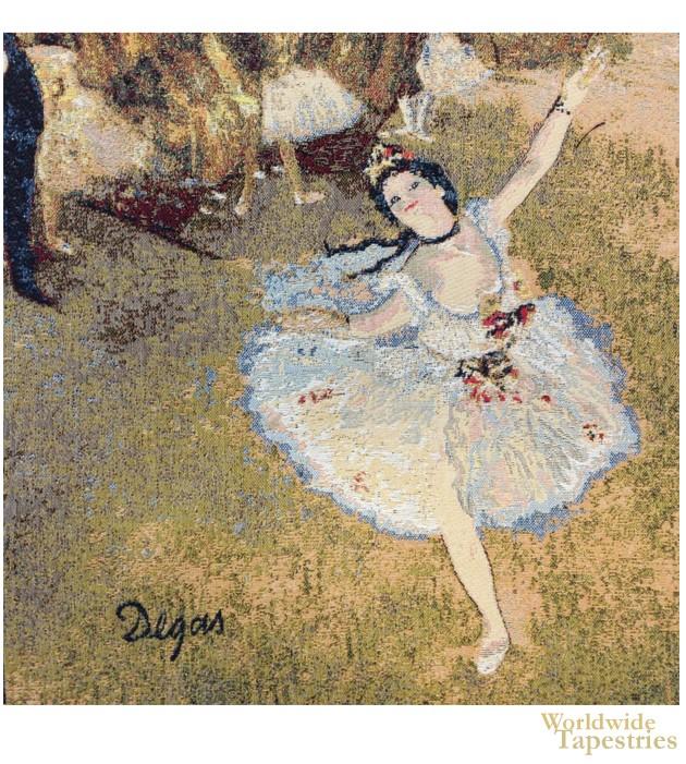 Danseuse Etoile II - Degas Cushion Cover