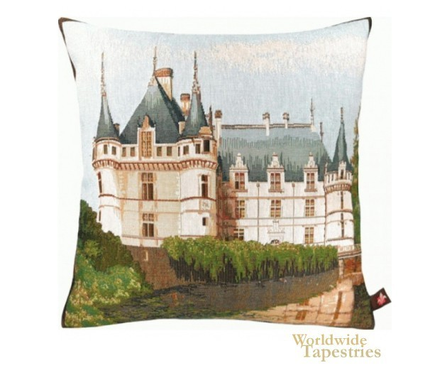 Castle Azay Le Rideau Cushion Cover