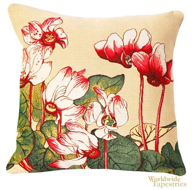 Cyclamen Cushion Cover