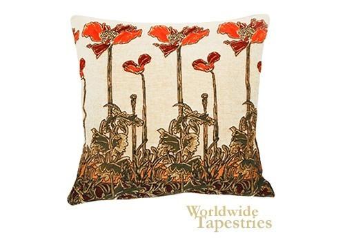 Champ Art Nouveau Cushion Cover