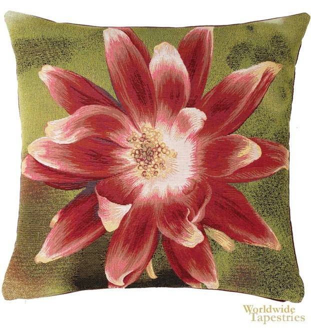 Fleur Etoille Fond Cushion Cover
