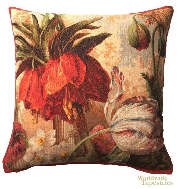 Fleur Exotique Cushion Cover