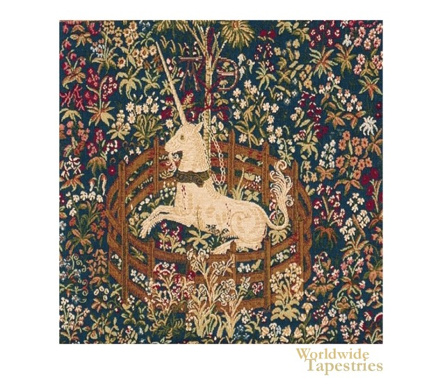 La Licorne Captive I Cushion Cover