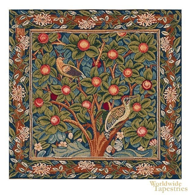 Woodpecker Cushion Cover
