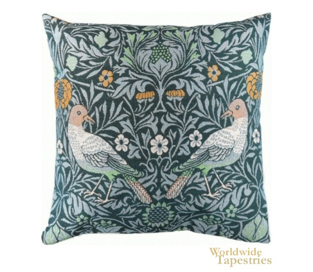 Bird Couple Cushion Cover