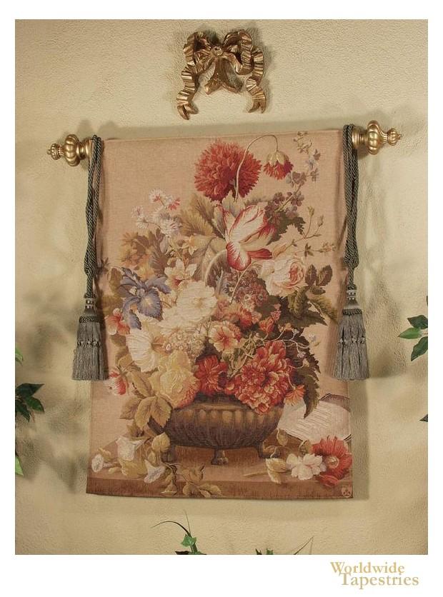 Floral Cluster - Beige