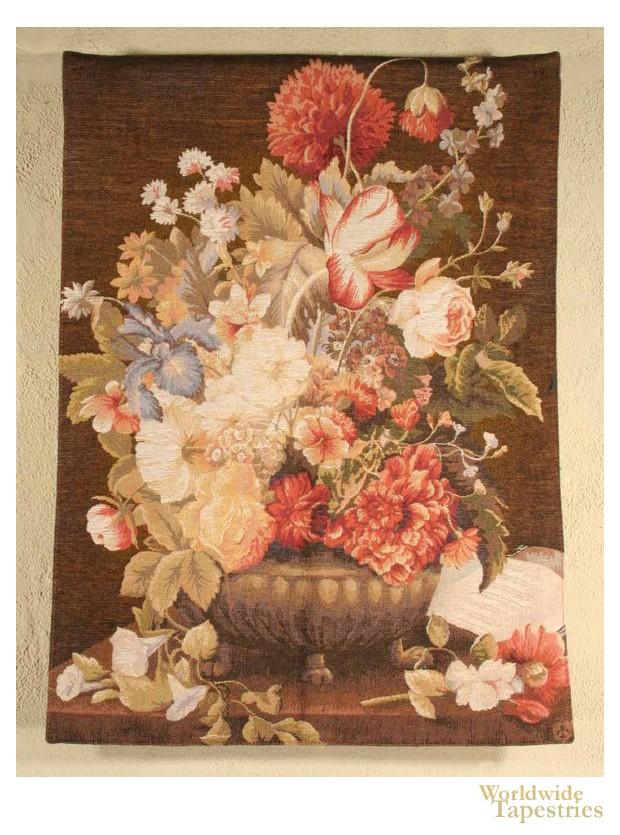 Floral Cluster - Brown