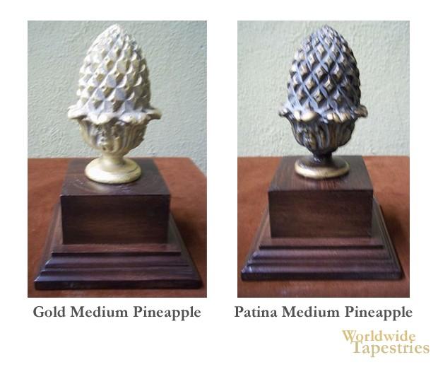 Medium Pineapple Finial Set
