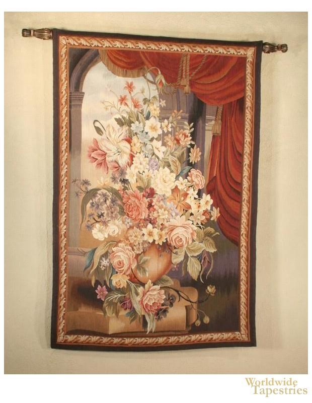 Handwoven Drape & Blossom