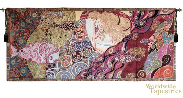 Sleeping Danae - Klimt