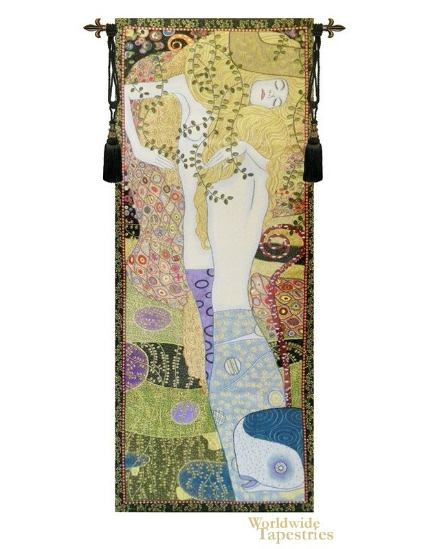 Water Snakes - Klimt