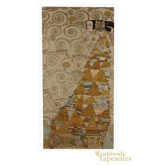 The Waiting I (Right) - Klimt