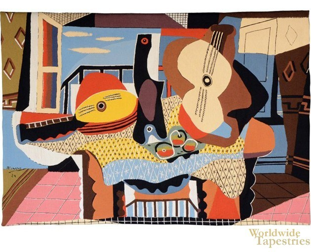 Mandoline Et Guitare - Picasso