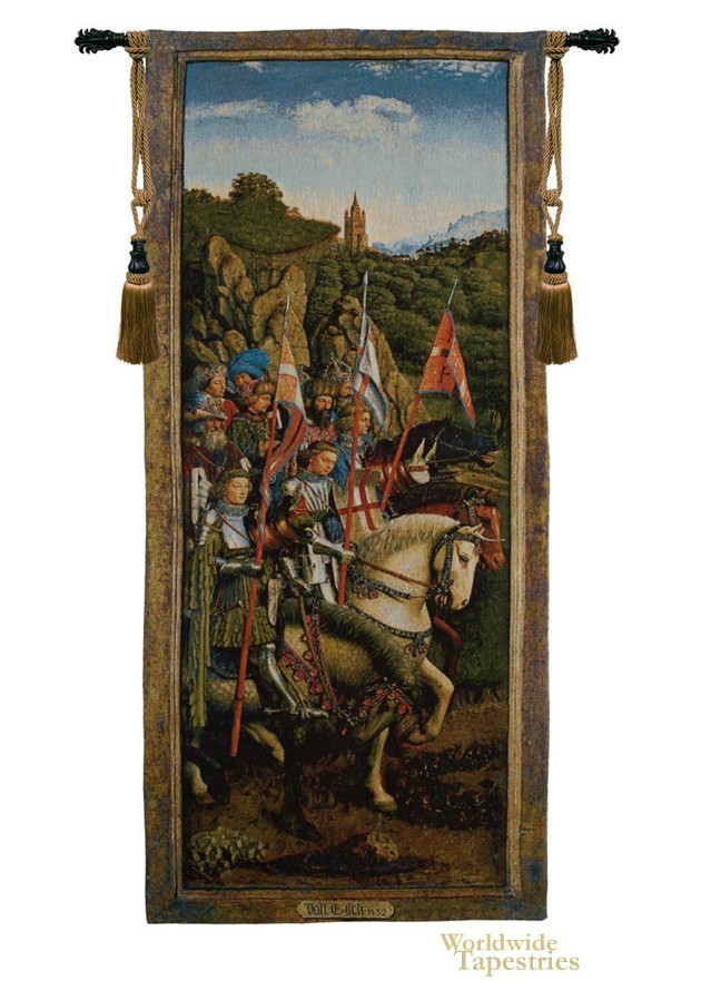 Knights Of Christ - van Eyck