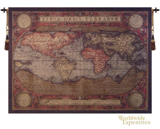 Antique Map Black