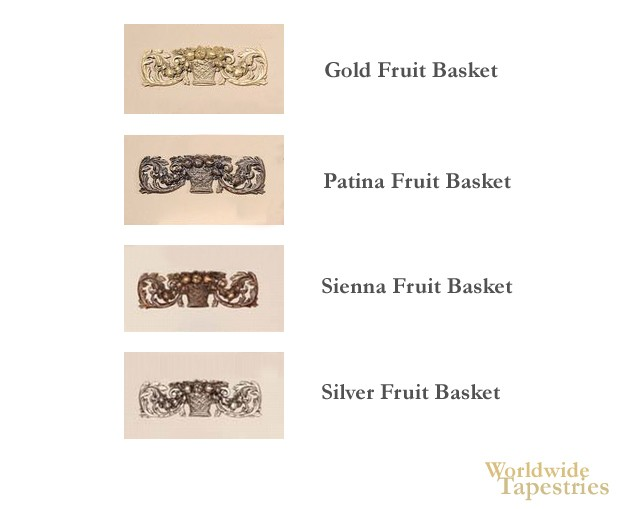 Fruit Basket Tapestry Topper