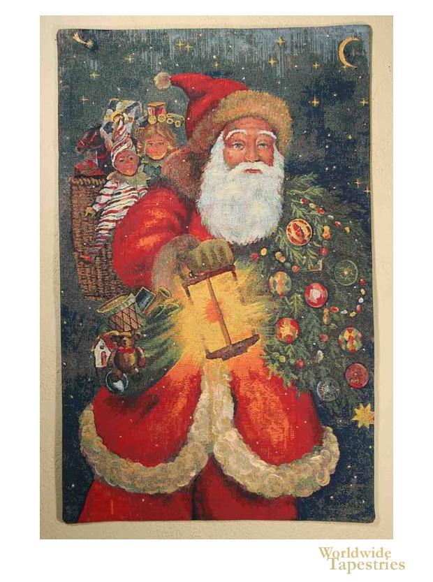 Santa Shining