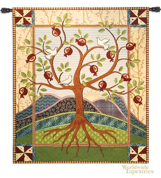 Pomegranate Tree Of Life