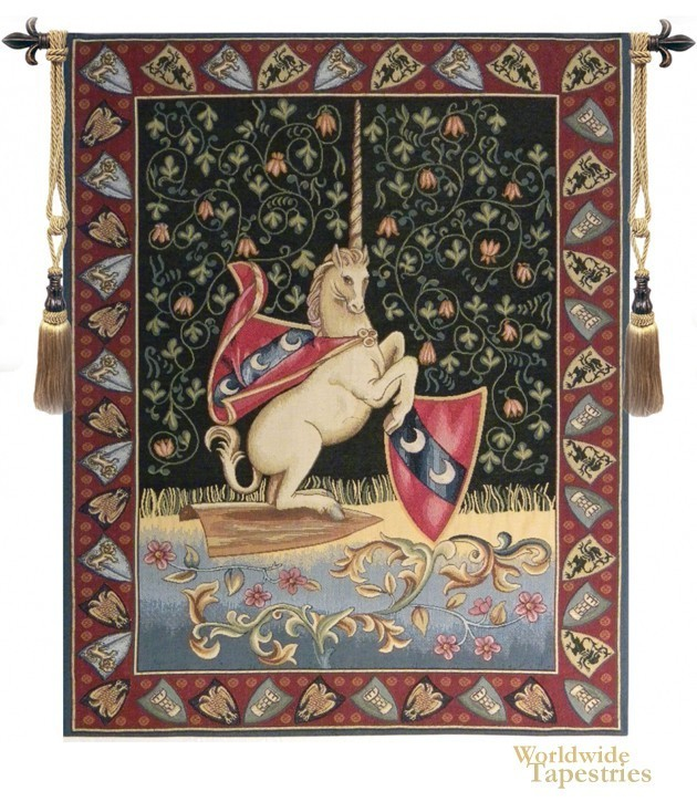 unicorn medieval unicorn tapestries worldwide tapestries