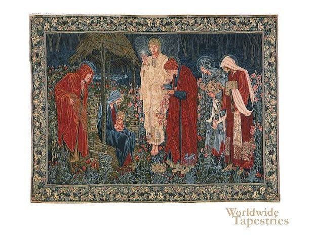 The Adoration of the Magi - with border
